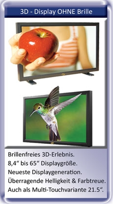 3D Display OHNE Brille